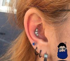 Синяя борода Краснодар пирсинг